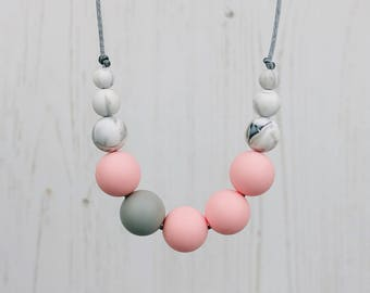 Teething Necklace, Teething Jewellery, Fiddle Necklace, Breastfeeding, Teething Beads, Nursing Jewellery, Baby Shower Gift, New Mum, Teether