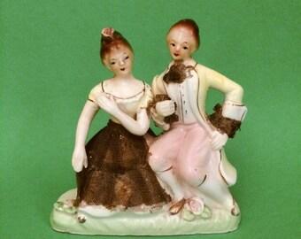 Vintage Couple Figurine