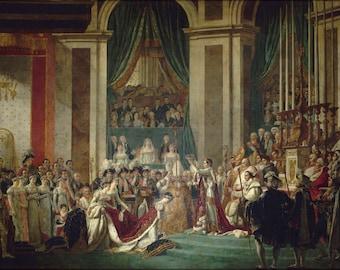 Poster, Many Sizes Available; Jacques Louis David Le Couronnement De L'Empereur Et De L'Imperatrice, 2 Decembre 1804