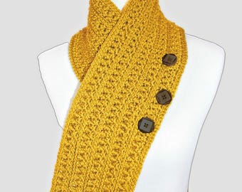 Crochet Pattern for Scarf, Winter Haven Collection, Toddler, Child, Adult PDF 17-342