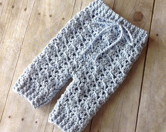 Crochet Pattern for Diagonal Spike Stitch Baby Pants or Shorties - Multiple Sizes - Welcome to sell finished items