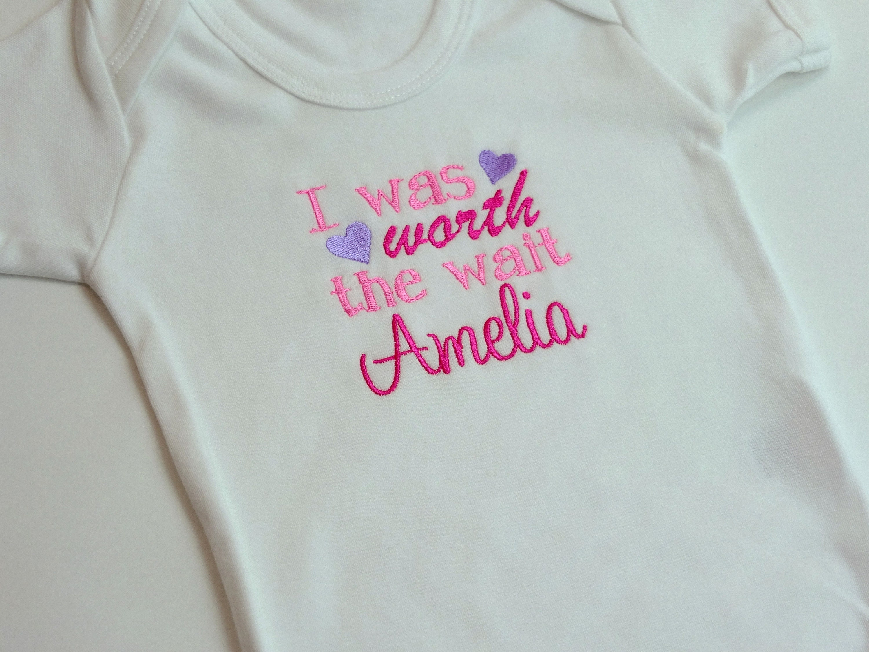 Baby Clothes Girl Clothes Personalised Clothes New Baby Gift