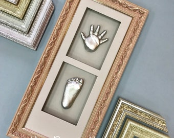 Frame for children's casts decoration, Hands for Baby Sculpture