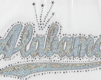 CLOSEOUT SALE Alabama Sequins and Rhinestone Transfer Applique ONLY