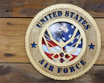 US Air Force Tribue Plaque, Air Force Gift, Air Force Memorbelia, Air Force Wall Decor, Air Force Veteran Gift,