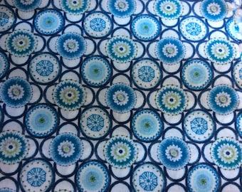 Tana lawn fabric from Liberty of London, Maddock