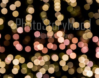Texture Bokeh Background Digital Overlay bokeh effect Celebration bokeh background Christmas light overlay Photo Texture digital download