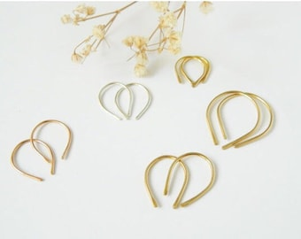 Earrings: Small Hoop