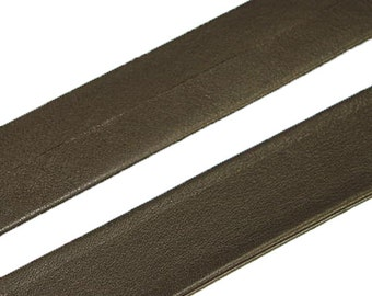 """Leather Purse Strapping - 1"""" / Brown"""