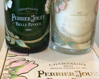 Perrier Jouet Belle Epoque/Rose/champagne Candles