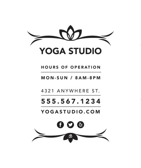 Business Hours Sign Template] Business Hours Sign For Mon Tues Wed ...