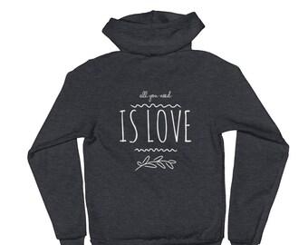 Love/P+L+J Hoodie sweater