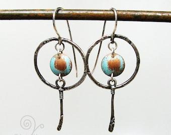 Almost Dreamcatcher Dangle Earrings