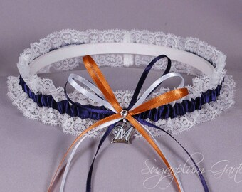 Milwaukee Brewers Lace Wedding Garter
