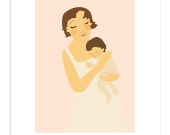 mothers day  8 x 10 print in 11 x 14 inch mat