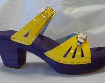 FINAL SALE clog -ECU Super Fan Sandal High Heel