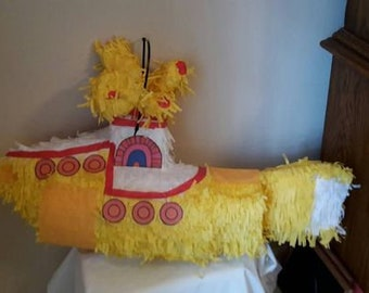 Submarine pinata. In any color you would like. Made to order. New