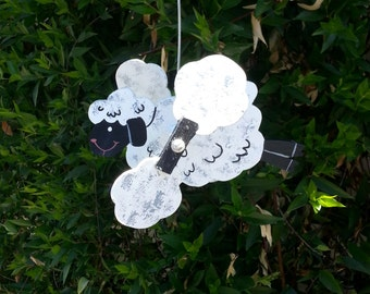 Lamb whirlygig