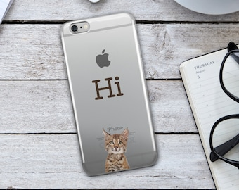Cat iPhone Case - Funny Cat iPhone Case - Funny iPhone Case - Cute Cat iPhone Case - Cute Cat - Funny Cellphone Case