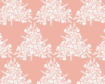 CORAL Baby Bedding - Fitted Crib Sheets / Changing Pad Cover / Coral Nursery Bedding / Diaper Pad Covers / Crib Bedding by Babiease