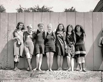 Bathing Beach Parade 1910s Photo #2