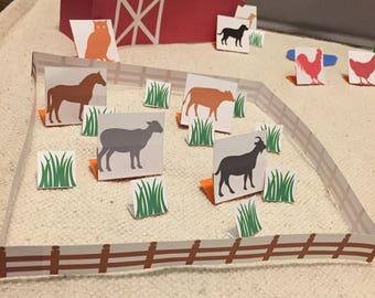 Printable Montessori Grammar Farm