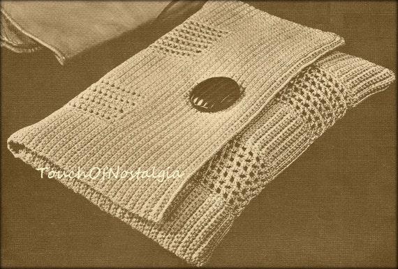 Envelope Clutch Crochet Pattern Chic Style Envelope Evening Clutch