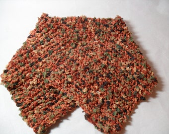 Fallen Autumn Leaves - Neck Warmer, Scarflette