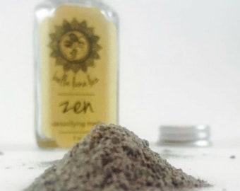 Zen ~ Crystal-Infused Detoxifying Face Mask ~ 2 oz
