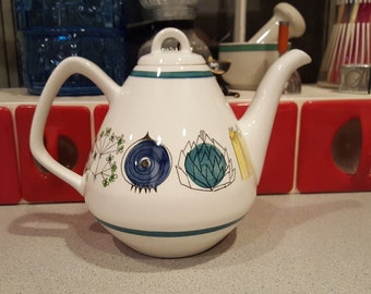 Very Rare Porcelain Rorstrand Picknick Marianne Westman Teapot