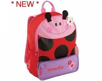 Personalized Ladybug Sidekick Backpack