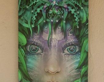 Canvas Print 'Vinesight'