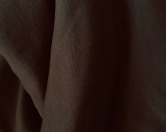 dark chocolate stretchy rayon spandex fabric