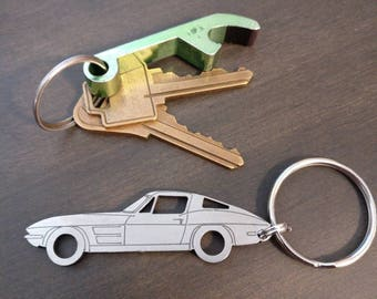 C2 Corvette 1963-1967 Chevrolet Keychains