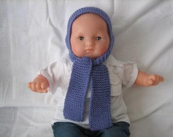 Hat-scarf Merino Wool
