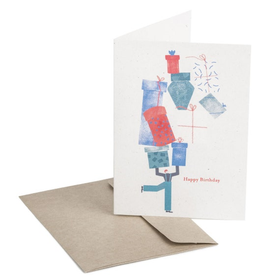 BIRTHDAY GIFTS. Birthday card. Birthday Gifts. Minimalist style. For her. For him