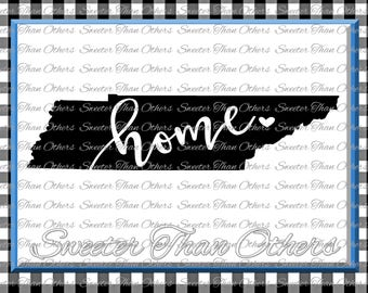 Tennessee home SVG T shirt Design Vinyl  Tennessee (SVG and DXF Files) Tennessee Silhouette, Silhouette, Cameo, Cricut, Instant Download