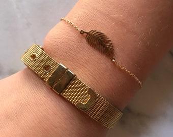 Bracelet stainless steel.