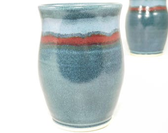Pottery Tumbler - 4.75 Inches Tall - Ceramic Tumbler - Stoneware Tumbler - Handmade Tumbler - Ceramic Cup - Pottery Cup - In Stock