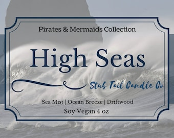 High Seas - Scented Soy Candle