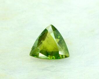 0.65 cts Rare Full Fire Multi Color Natural Sphene Titanite Gemstone from Pakistan - 4*4*01 mm