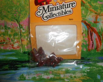 """Miniature Collectibles Bears- 1/2"""" Tall - Old Store Stock - EM-3"""