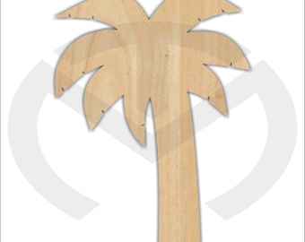 Unfinished Wood Palm Tree Door Hanger Laser Cutout, Home Decor, Ready To  Paint U0026 Personalize, Summer, Various Sizes