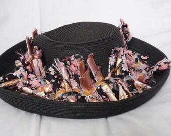 Brocade hatband