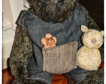 Teddy bear handmade Teddy friend