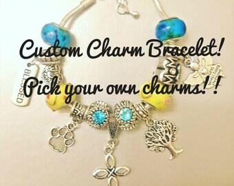 Custom Charm Bracelet!!