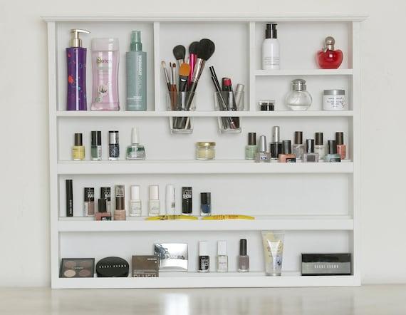Good XLarge Wall Makeup Organizer Bathroom Storage Lipstick