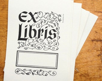 Ex Libris Design Bookplate