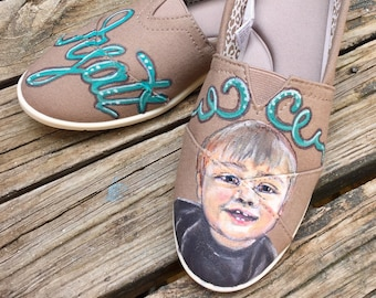 Custom Portrait shoes