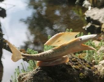 Horn vintage fish